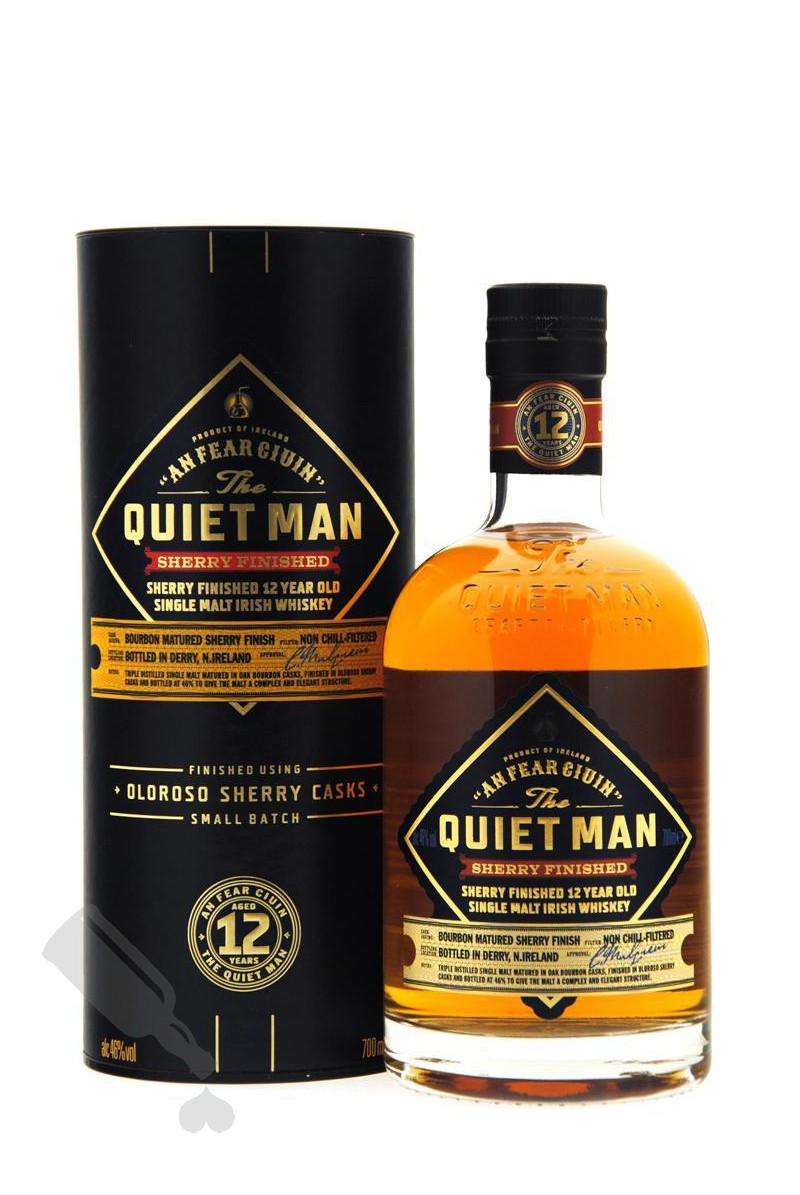 The Quiet Man 12 years Sherry Finished