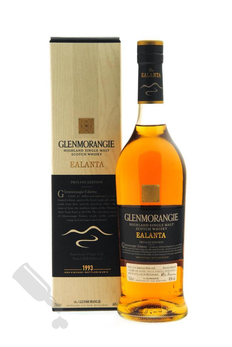 Glenmorangie 1993 - 2012 Ealanta