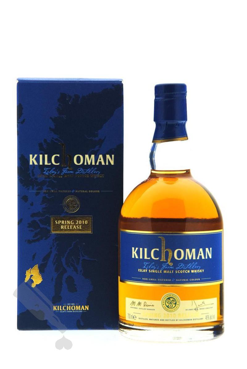 Kilchoman Spring 2010 Release