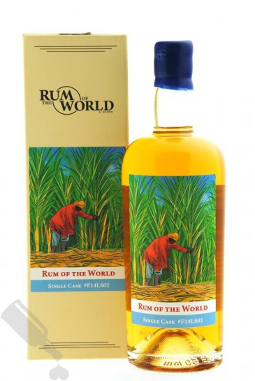 Rum of the World 6 years 2014 - 2021 Fidji Single Cask #F14LS02