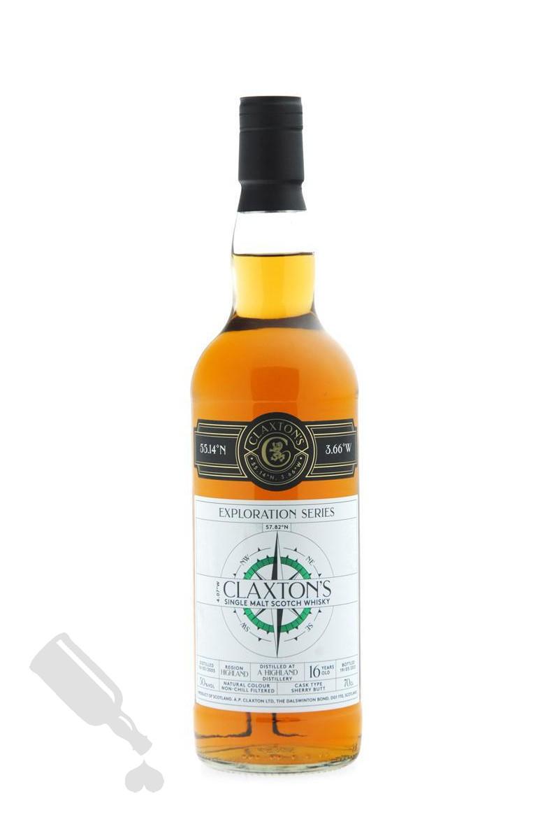 Distilled at a Highland Distillery 16 years 2005 - 2021