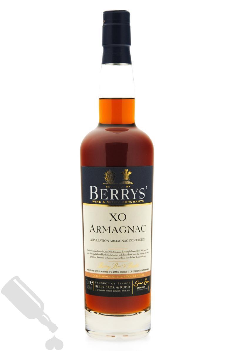 Berrys' Armagnac Nismes-Delclou XO