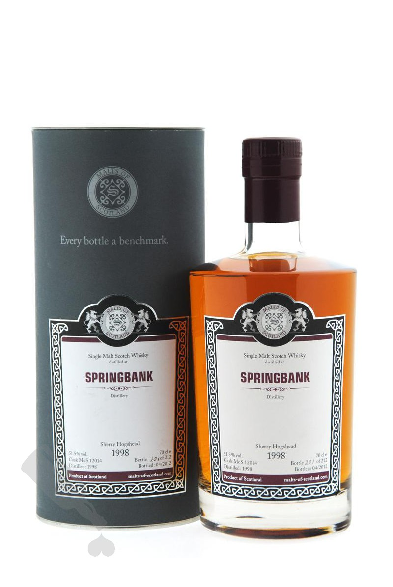 Springbank 1998 - 2012 #12014 Sherry Hogshead