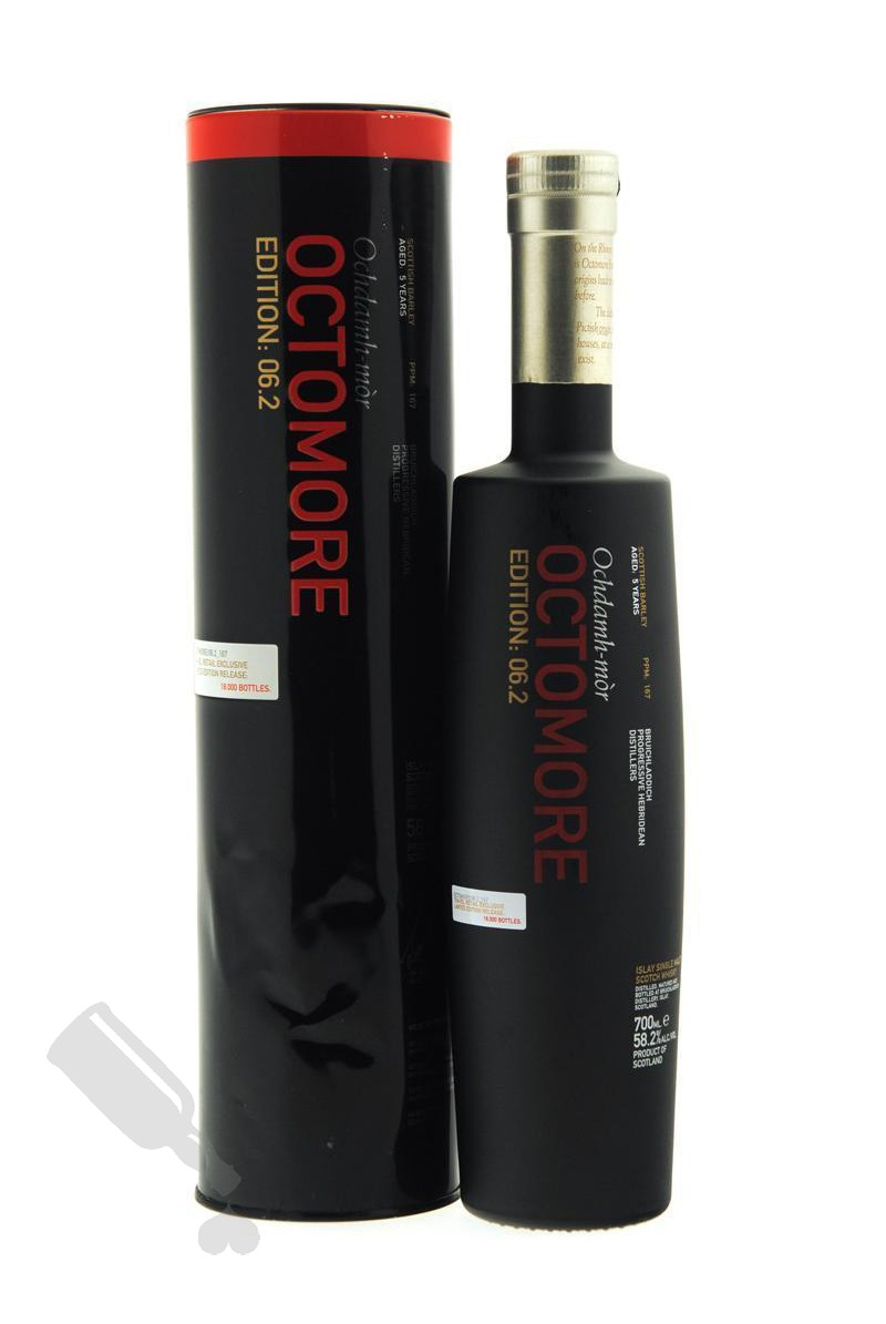Octomore 5 years Scottish Barley Edition 06.2 - Travel Retail Exclusive