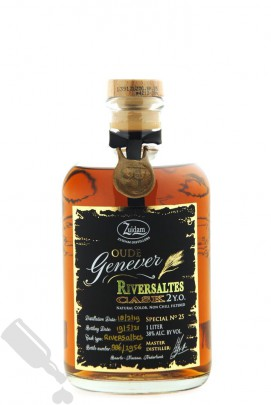 Zuidam Oude Genever 2 years 2019 - 2021 Riversaltes Cask Special No. 25 100cl