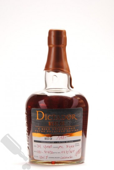 Dictador 34 years Best Of 1981 Limited Release