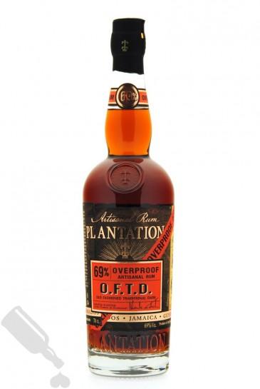 Plantation O.F.T.D. 69% Overproof