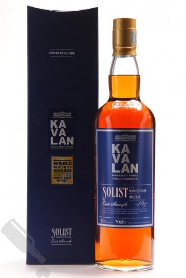 Kavalan Solist 2016 Vinho Barrique