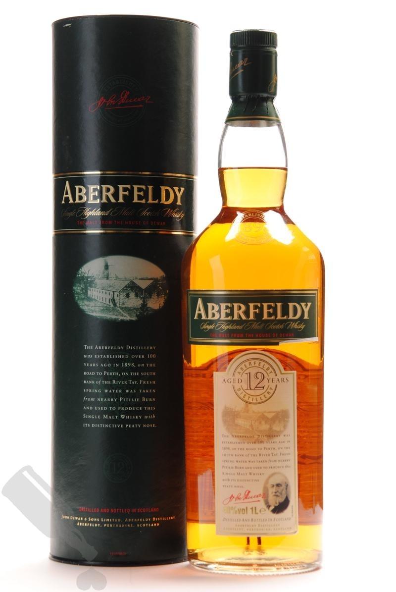 Aberfeldy 12 years 100cl - Old Bottling