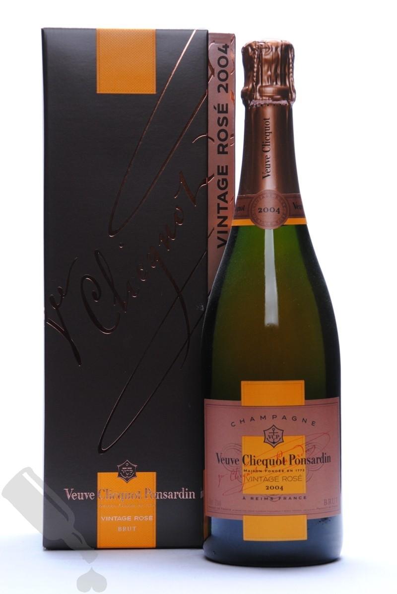 Veuve Clicquot Ponsardin Vintage Rosé 2004