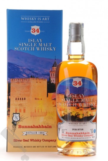 Bunnahabhain 34 years 1980 - 2014 #84 Whisky Is Art