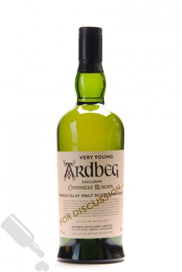 Ardbeg 1997 - 2003 Very Young Exclusive Committee Reserve