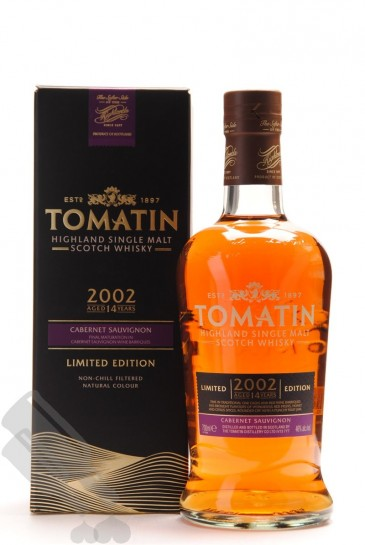 Tomatin 14 years 2002 Cabernet Sauvignon Limited Edition