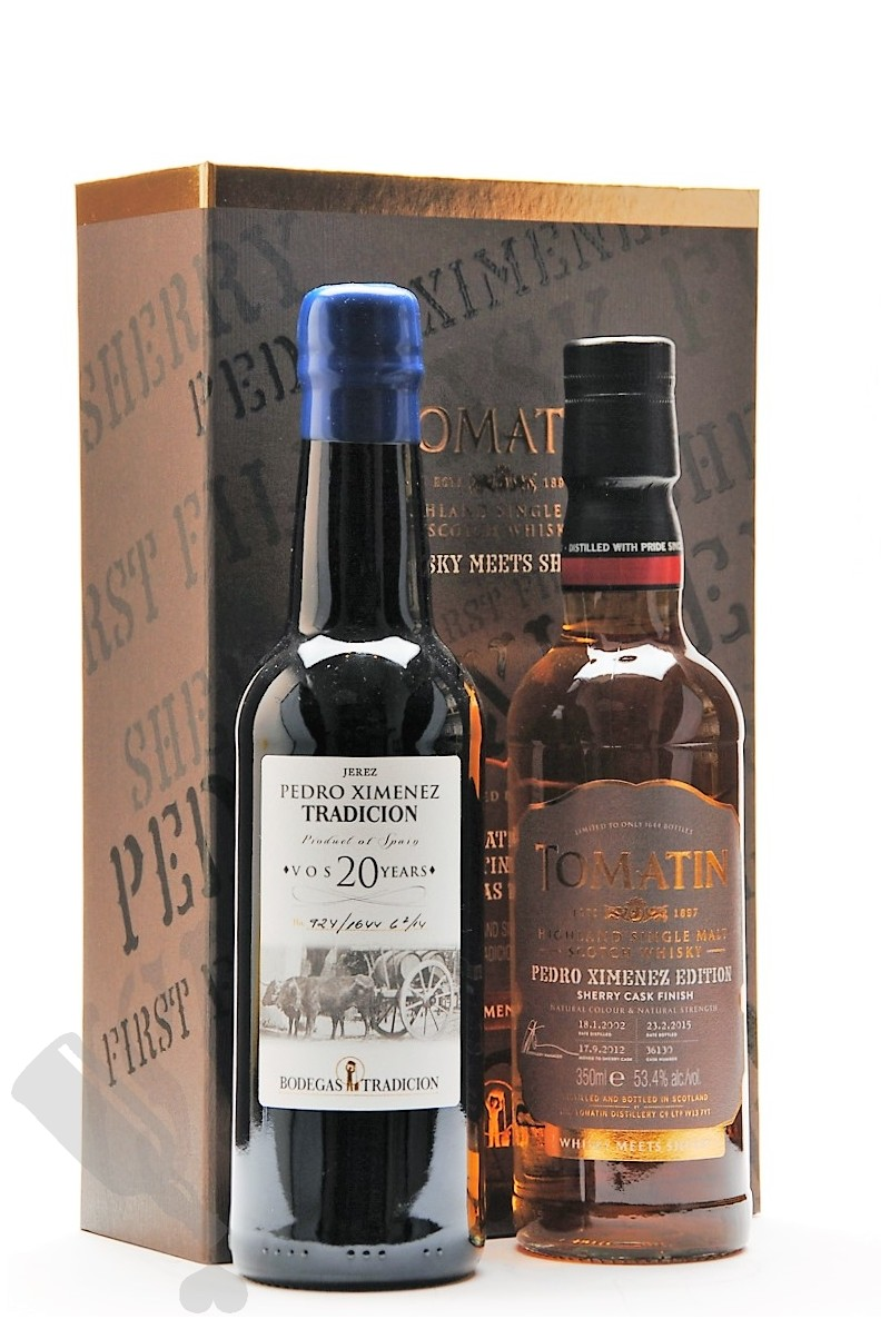 Tomatin Whisky Meets Sherry Pedro Ximenez Edition - Giftpack
