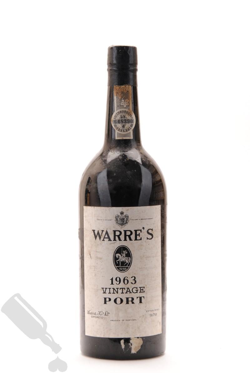 Warre's Vintage 1963