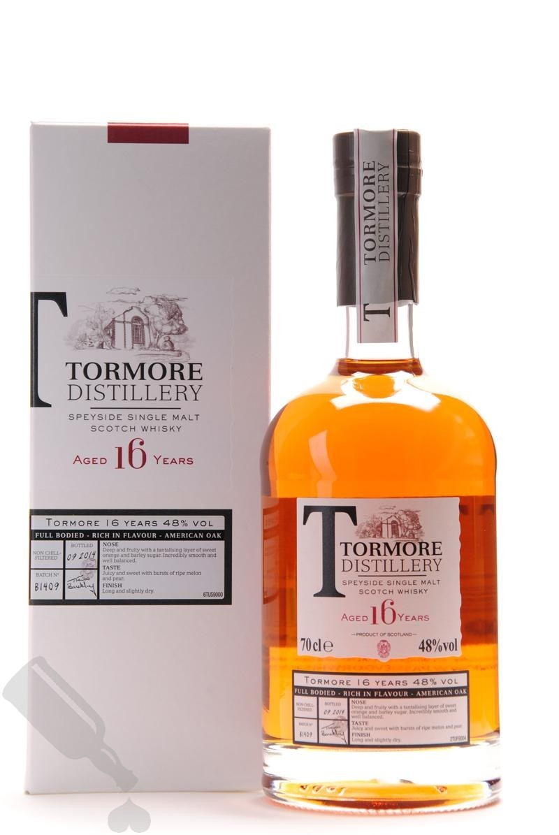 Tormore 16 years
