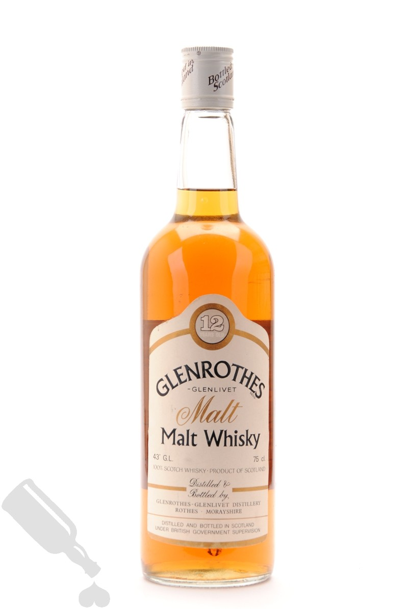 Glenrothes 12 years 75cl - Old Bottling