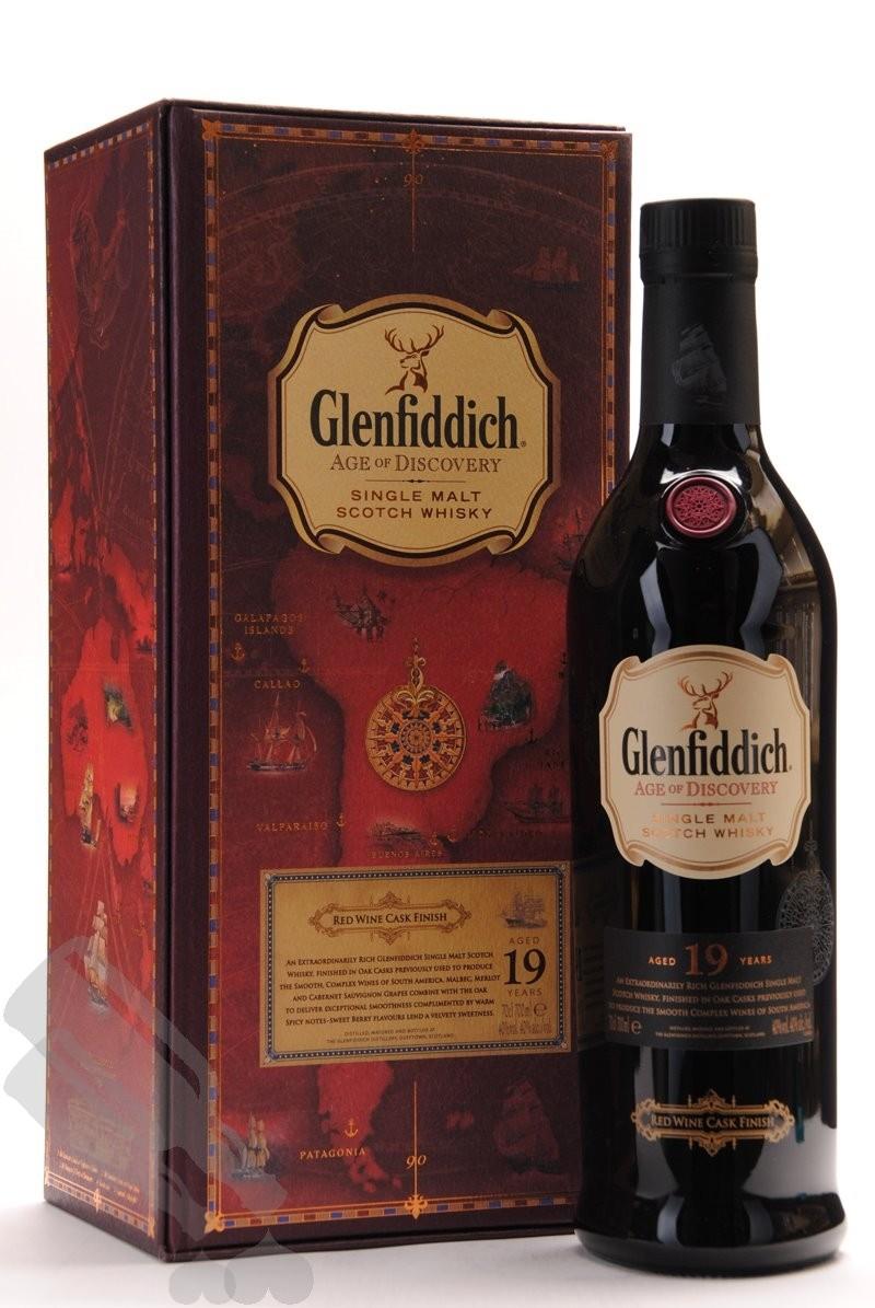 Glenfiddich 19 years Red Wine Cask Finish