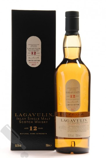 Lagavulin 12 years Natural Cask Strength 2017