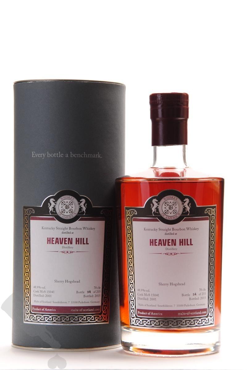 Heaven Hill 2001 - 2015 #15041 Sherry Hogshead