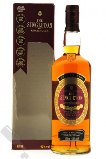 The Singleton Of Auchroisk 10 years 100cl - Old Bottling