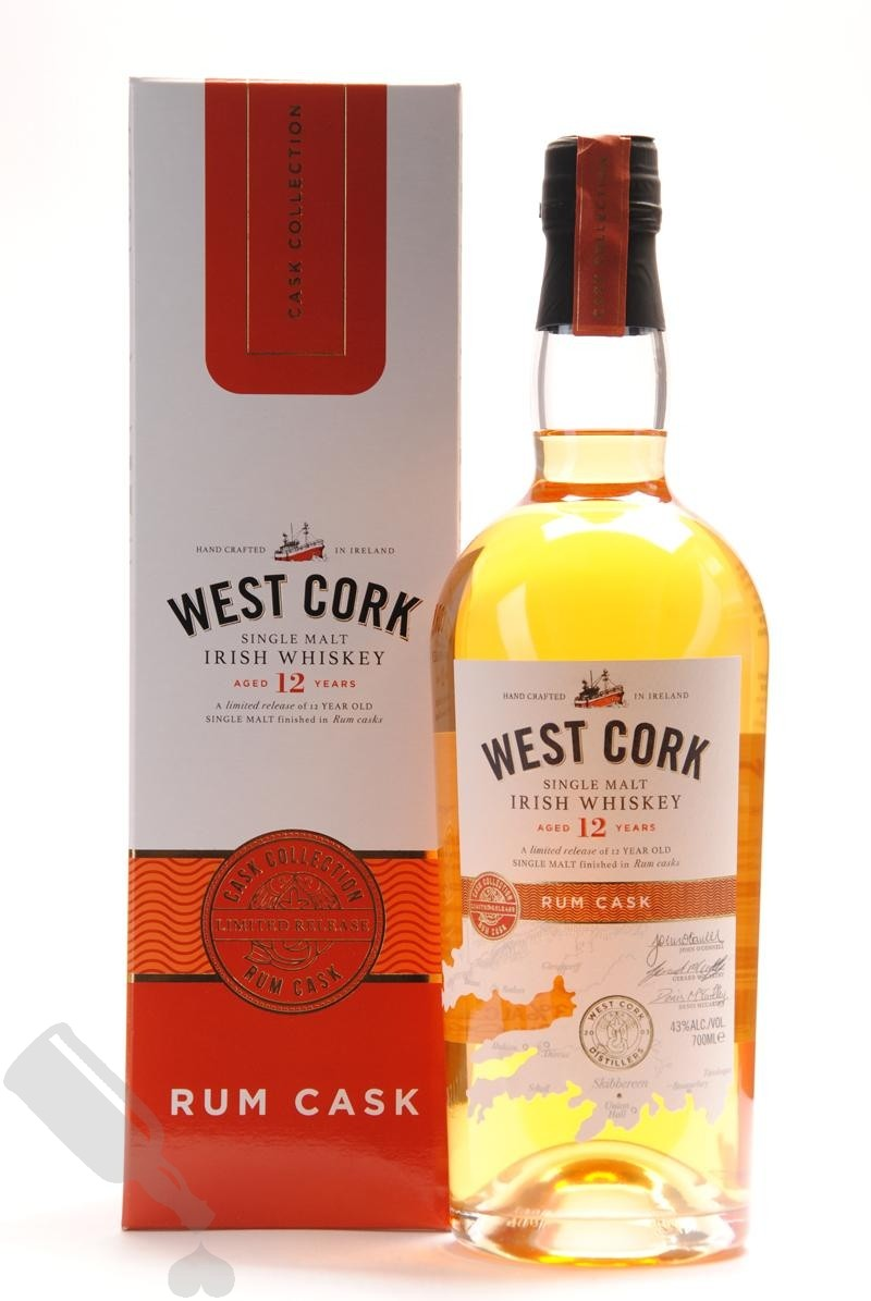 West Cork 12 years Rum Cask