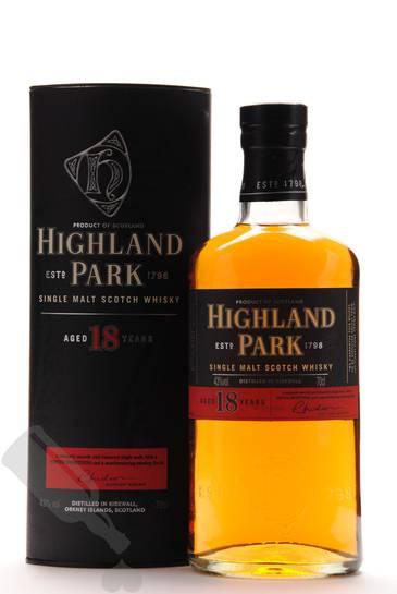 Highland Park 18 years - Old Bottling
