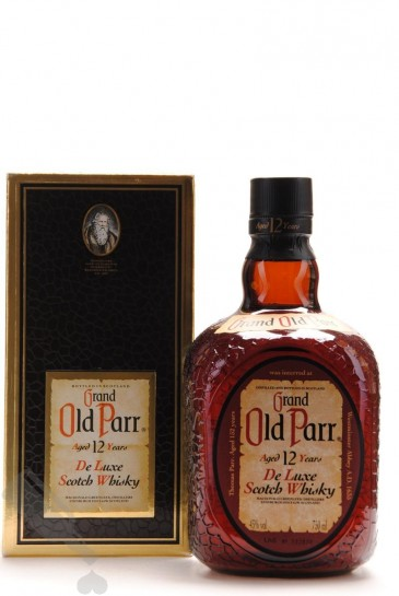 Grand Old Parr 12 years 75cl