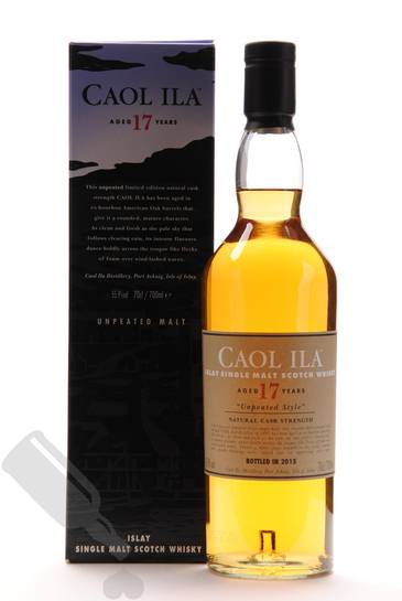 Caol Ila 17 years 1997 - 2015 Unpeated Style