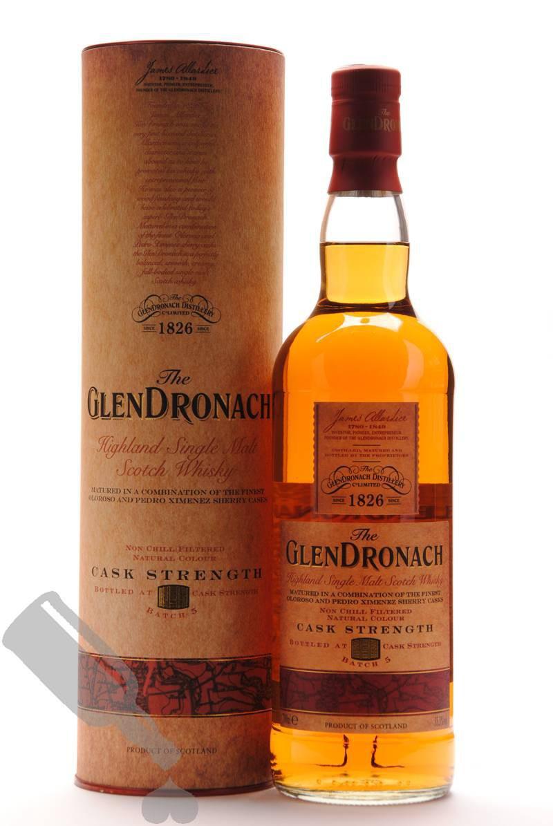 GlenDronach Cask Strenght Batch 5
