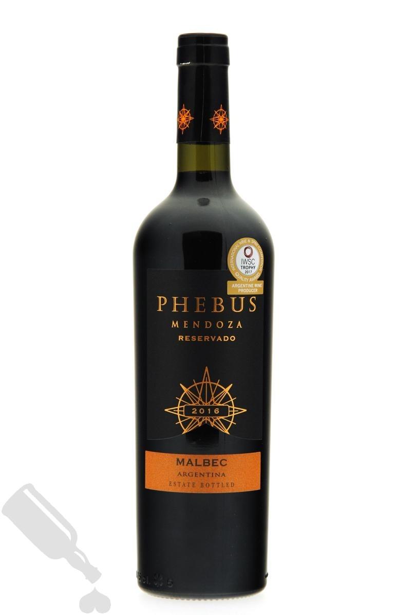 Phebus Reservado Mendoza Malbec