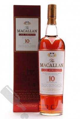 Macallan 10 years Cask Strength