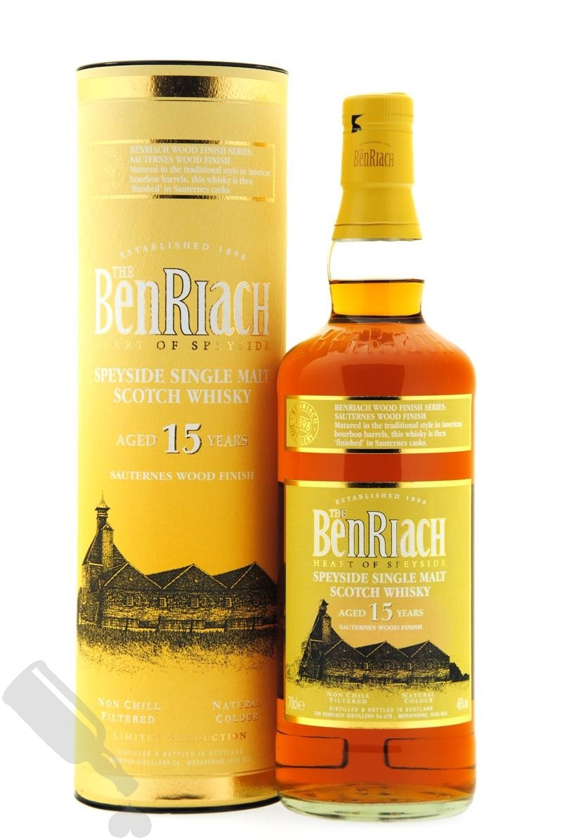 BenRiach 15 years Sauternes Wood Finish