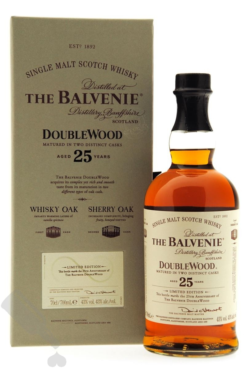 Balvenie 25 years Double Wood
