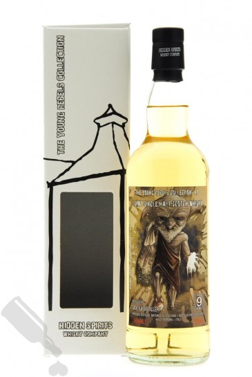 Caol Ila 9 years 2008 - 2017 The Young Rebels Collection N.6
