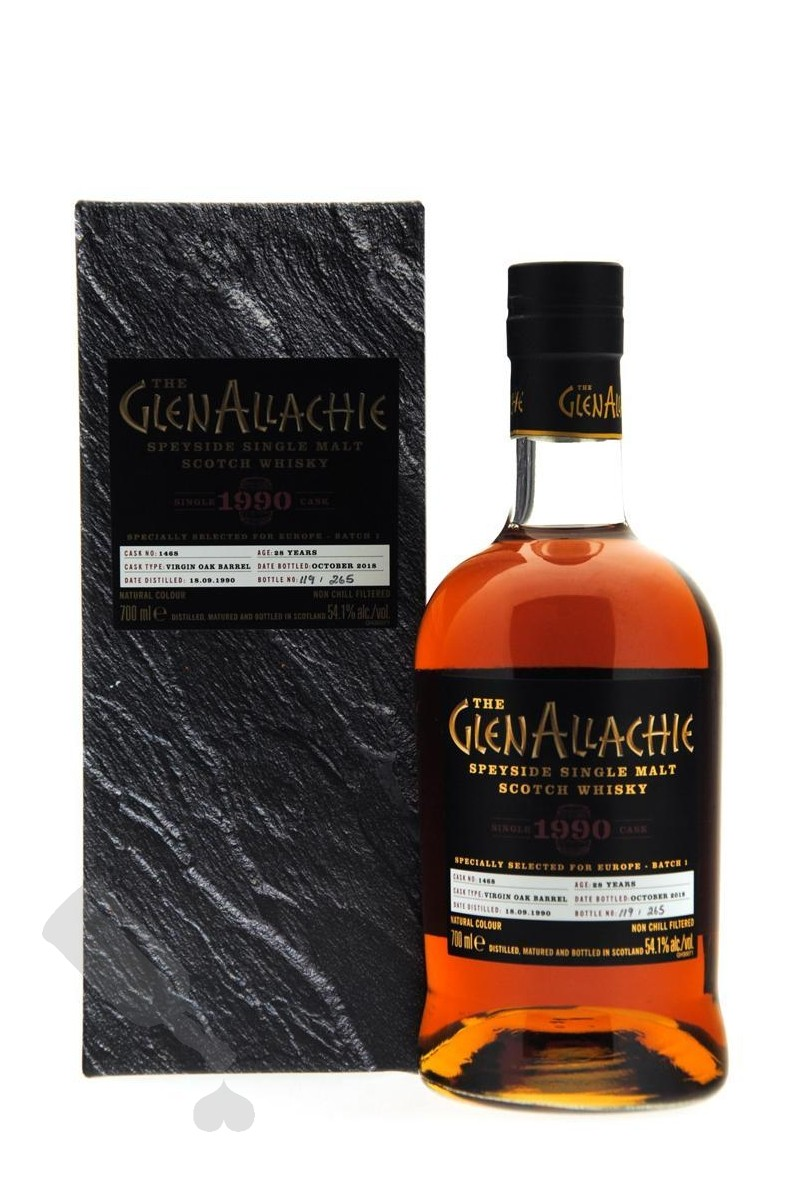 GlenAllachie 28 years 1990 - 2018 #1468 Batch 1