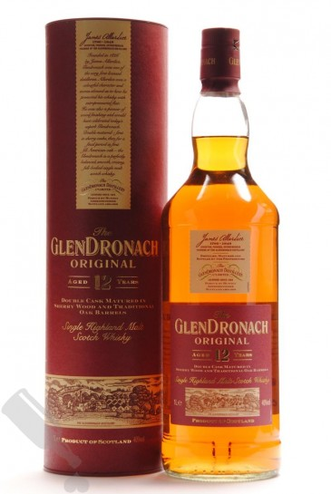 GlenDronach 12 years Original 100cl - Old Bottling