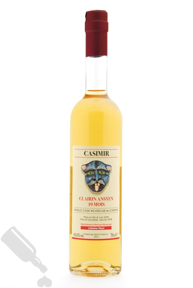 Clairin Ansyen Casimir 2016 - 2018 Single Cask #CARCA8