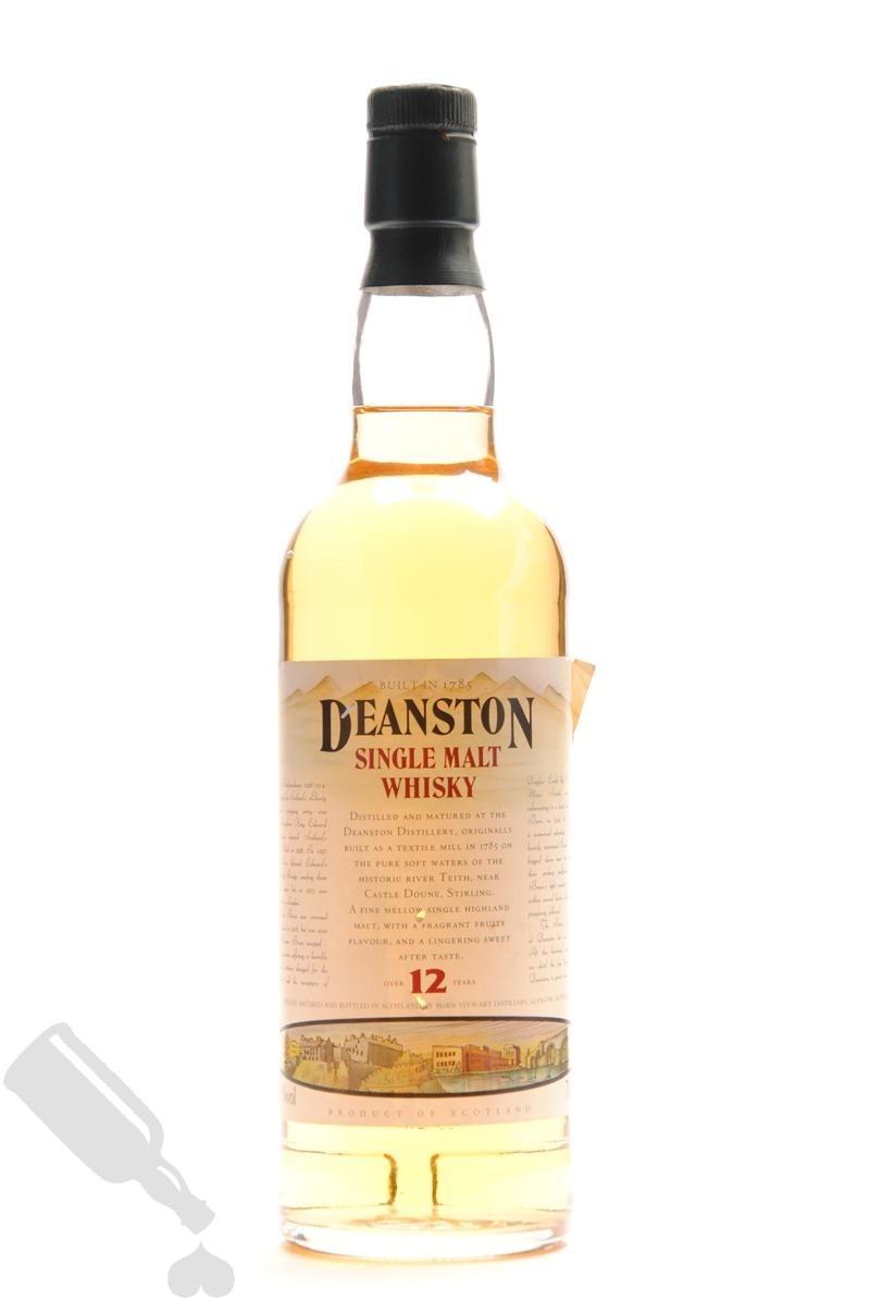 Deanston 12 years - Old Bottling