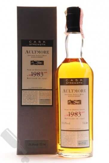 Aultmore 1983 - 1997 Cask Strength