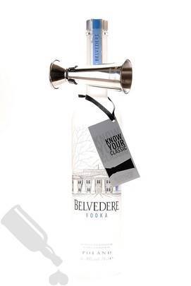 Belvedere Pure including Bow Tie Jigger