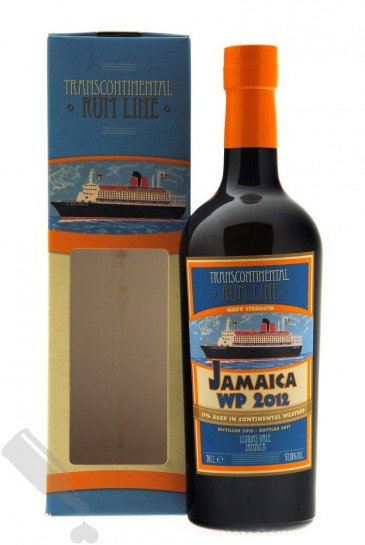 Worthy Park 2012 - 2017 Navy Strength Transcontinental Rum Line