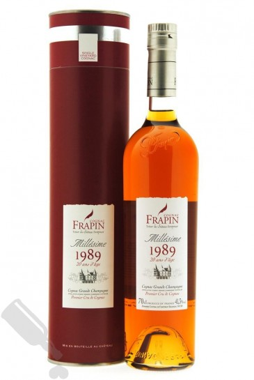 Frapin Château Fontpinot 20 years 1989