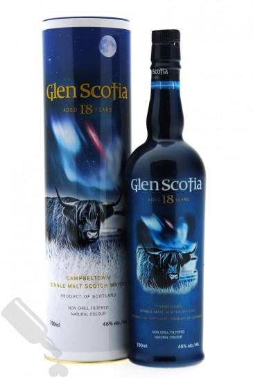 Glen Scotia 18 years - Old Bottling