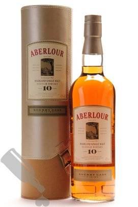 Aberlour 10 years Sherry Cask Finish