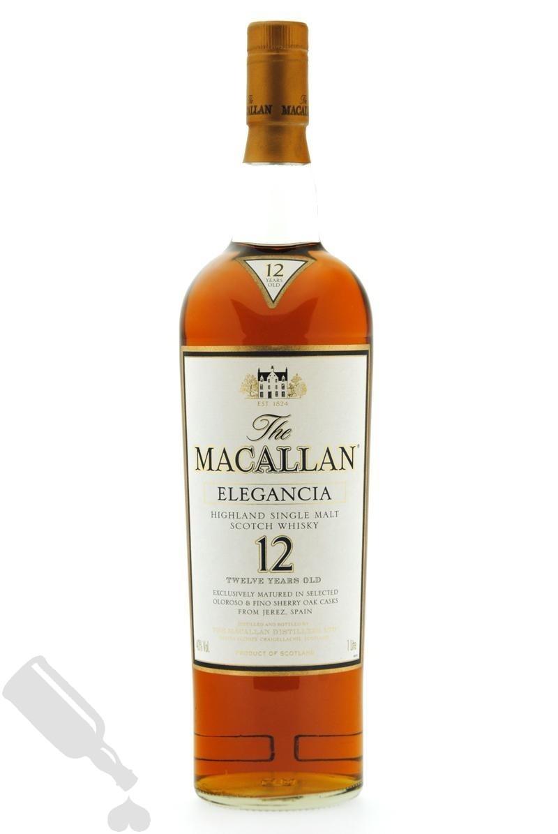 Macallan 12 years Elegancia 100cl - Old Bottling
