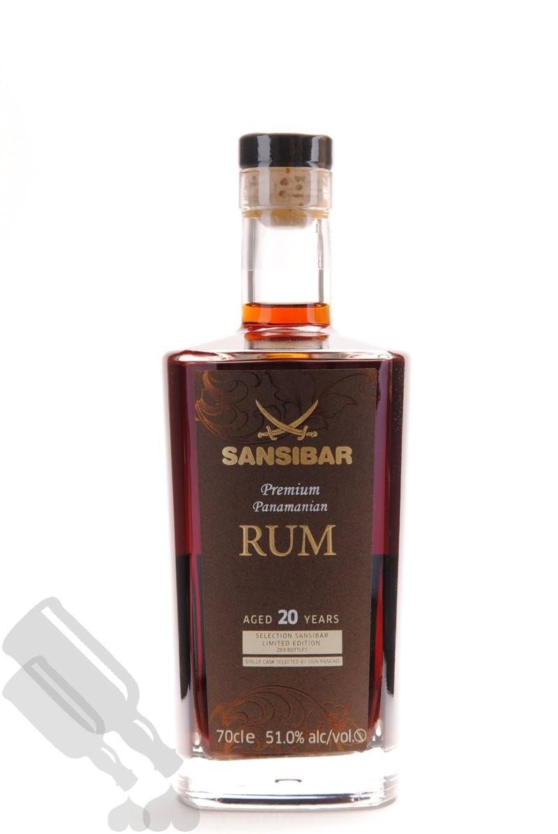 Premium Panamanian Rum 20 years 1996 - 2016 Sansibar