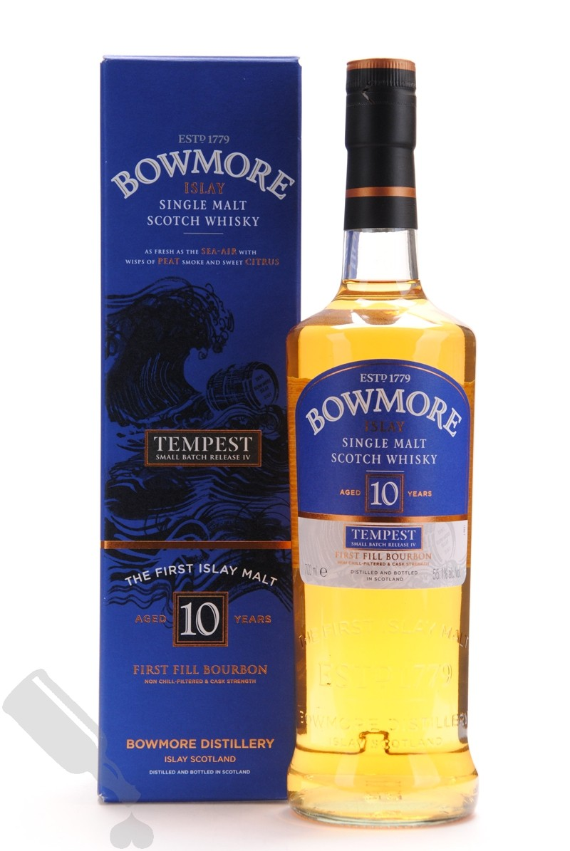 Bowmore 10 years Tempest - Small Batch Release No.4