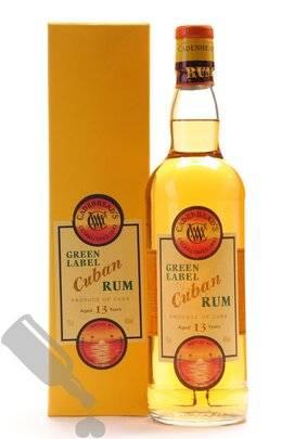 Cadenhead's Green Label Cuban Rum 13 years