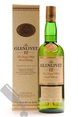 Glenlivet 12 years 75cl - Old Bottling
